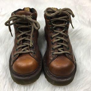 Dr. Martens Men's Boots Brown Saxon 8287 Casual